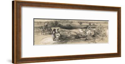 View of Mooltan (Multan) Fort from the West--Framed Giclee Print