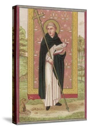 Saint Dominic Preacher Founder of the Order Named--Stretched Canvas Print