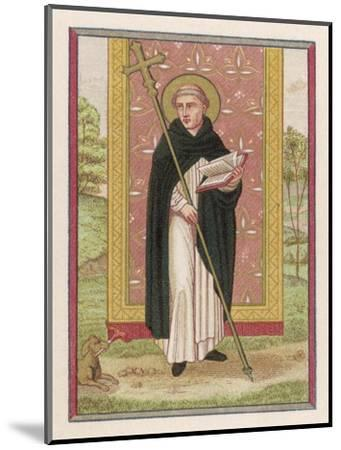 Saint Dominic Preacher Founder of the Order Named--Mounted Giclee Print