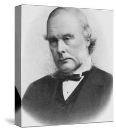Joseph Lister English Surgeon Medical Scientist and Founder of Antiseptic Surgery--Stretched Canvas Print
