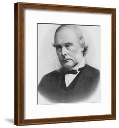 Joseph Lister English Surgeon Medical Scientist and Founder of Antiseptic Surgery--Framed Giclee Print