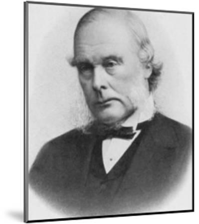 Joseph Lister English Surgeon Medical Scientist and Founder of Antiseptic Surgery--Mounted Giclee Print