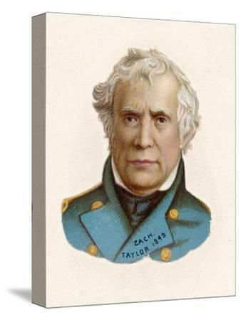 """Zachary Taylor Known as """"Old Rough-And-Ready"""" American Soldier 12th Us President--Stretched Canvas Print"""