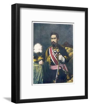 Mutsuhito Also Known as Meiji Emperor of Japan--Framed Giclee Print