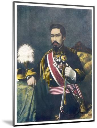 Mutsuhito Also Known as Meiji Emperor of Japan--Mounted Giclee Print