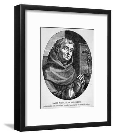 Saint Nicola di Tolentino Augustinian Friar Who Led an Uneventful Life of Patience and Humility--Framed Giclee Print