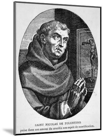 Saint Nicola di Tolentino Augustinian Friar Who Led an Uneventful Life of Patience and Humility--Mounted Giclee Print
