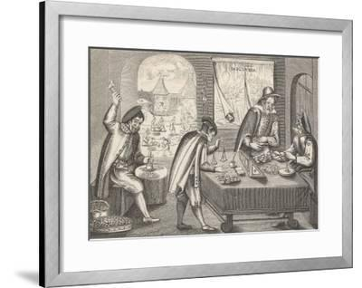 Coining in Germany--Framed Giclee Print