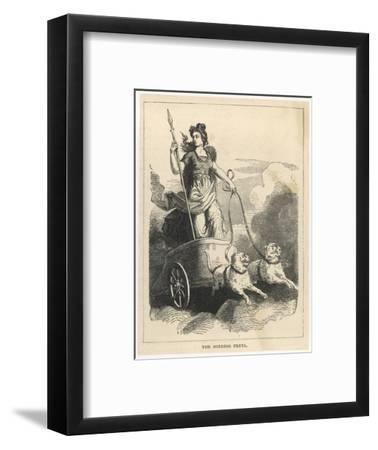 In Scandinavian Mythology the Goddess of Love Marriage and the Dead Giclee  Print by   Art com