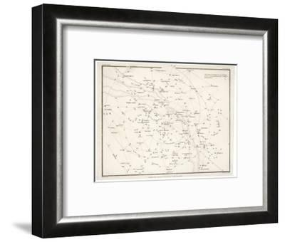 Stars Visible in Great Britain--Framed Giclee Print