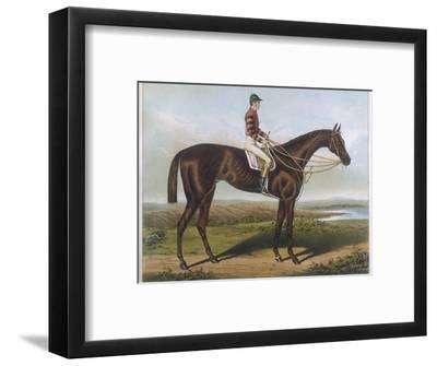 Winner of the Derby and St. Leger in 1881--Framed Premium Giclee Print