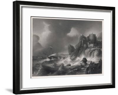 The Shipwreck--Framed Giclee Print