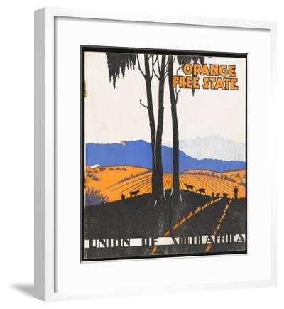 Orange Free State--Framed Giclee Print