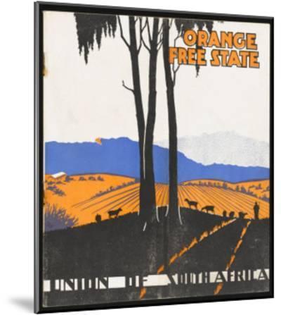 Orange Free State--Mounted Giclee Print