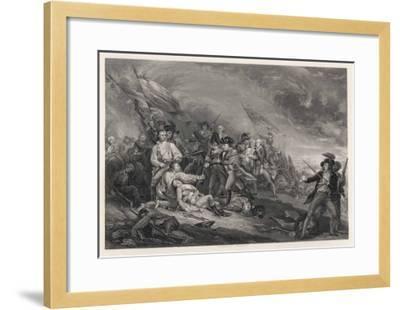 Battle of Bunker Hill-John Trumbull-Framed Giclee Print
