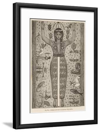Zodiac Signs Painted--Framed Giclee Print