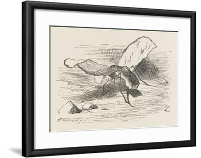 The Bread-And-Butter Fly-John Tenniel-Framed Giclee Print