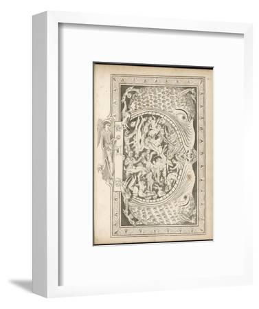 The Gates of Hell--Framed Giclee Print