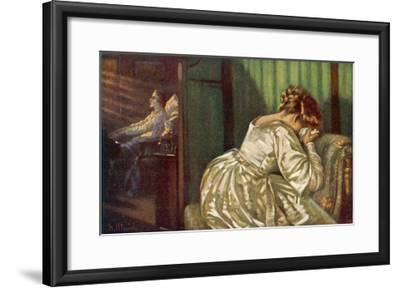 Frederic Chopin Polish Musician at the End of His Life-F. Ullrich-Framed Giclee Print