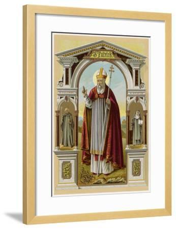 Saint Patrick--Framed Giclee Print