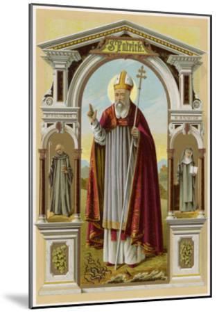 Saint Patrick--Mounted Giclee Print