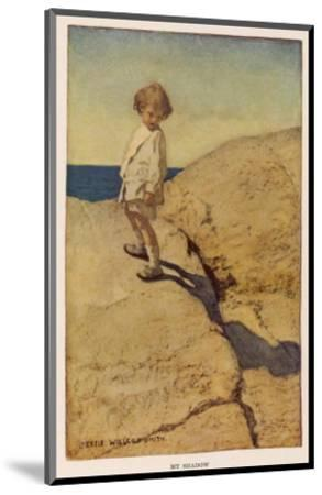 My Shadow by Robert Louis Stevenson-Jessie Willcox-Smith-Mounted Premium Giclee Print