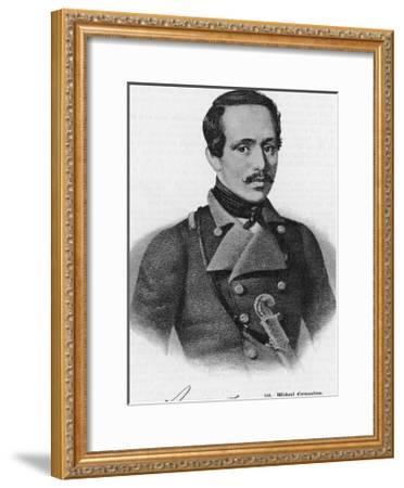 Mikhail Yurevich Lermontov Russian Writer--Framed Giclee Print
