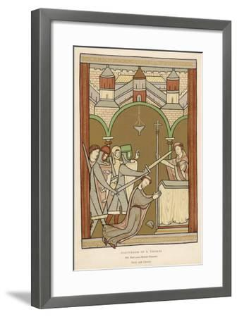 Thomas A. Becket, The Archbishop of Canterbury--Framed Giclee Print