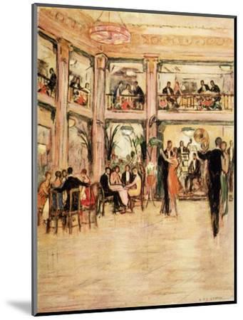 Dancers and Diners at the Kit- Kat Club in the Haymarket London-Dorothea St. John George-Mounted Giclee Print
