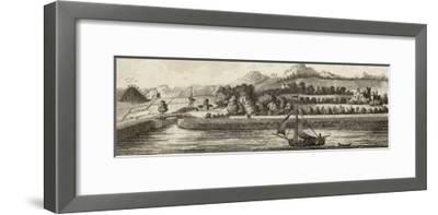 Basin of Caledonian Canal at Muirtown Near Inverness-J. Swaine-Framed Giclee Print