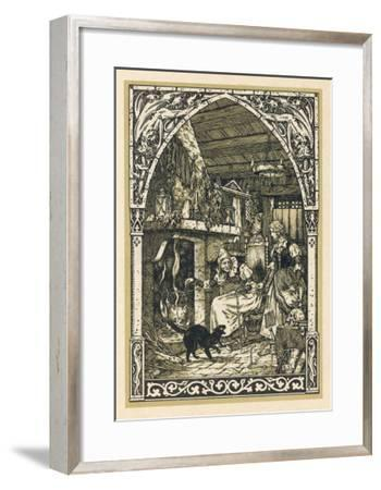 Old Witch Young Witch-Bernard Zuber-Framed Giclee Print
