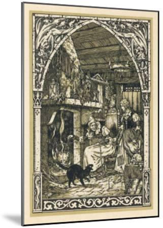 Old Witch Young Witch-Bernard Zuber-Mounted Giclee Print