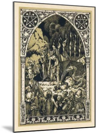 Child Offered to Satan-Bernard Zuber-Mounted Giclee Print