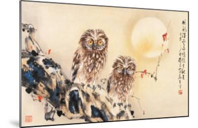 Lonely Night-Wong Luisang-Mounted Giclee Print