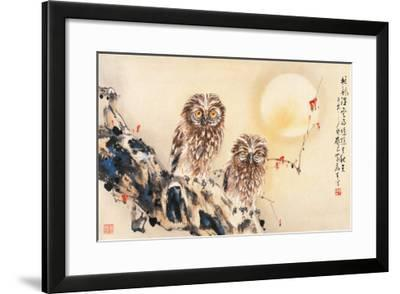 Lonely Night-Wong Luisang-Framed Giclee Print