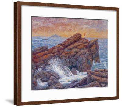 Sea Fishing-Chao Tsungkwan-Framed Giclee Print