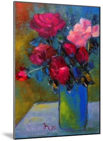 Splendid Roses-Oyang Counfu-Mounted Giclee Print