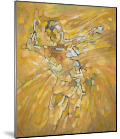 Volleyball-Hu Chang-Mounted Giclee Print