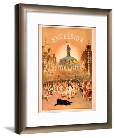 Excelsior-Forbes Co^-Framed Art Print