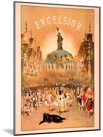 Excelsior-Forbes Co^-Mounted Art Print