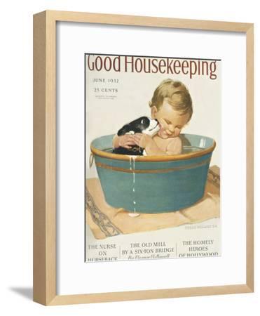 Good Housekeeping, June, 1932--Framed Premium Giclee Print
