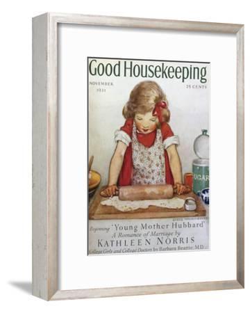 Good Housekeeping, November, 1931--Framed Premium Giclee Print