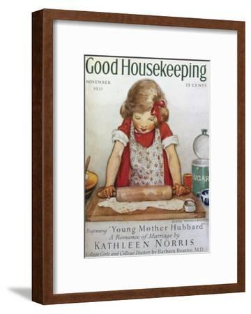 Good Housekeeping, November, 1931--Framed Art Print