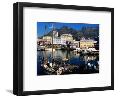 Victoria and Alfred Waterfront, Cape Town, South Africa-Ariadne Van Zandbergen-Framed Photographic Print