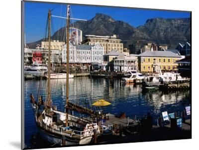 Victoria and Alfred Waterfront, Cape Town, South Africa-Ariadne Van Zandbergen-Mounted Photographic Print