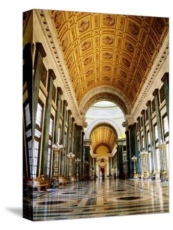 Hall of Lost Steps, Capitolio Nacional, Havana, Cuba-Christopher P Baker-Stretched Canvas Print