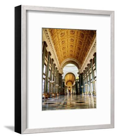 Hall of Lost Steps, Capitolio Nacional, Havana, Cuba-Christopher P Baker-Framed Photographic Print