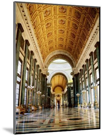 Hall of Lost Steps, Capitolio Nacional, Havana, Cuba-Christopher P Baker-Mounted Photographic Print