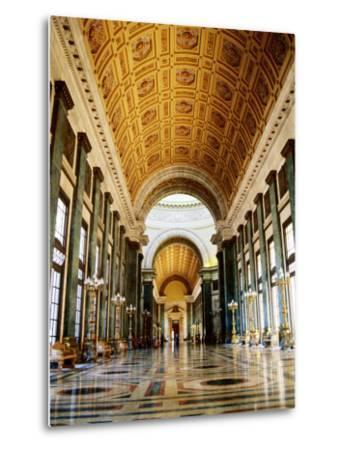Hall of Lost Steps, Capitolio Nacional, Havana, Cuba-Christopher P Baker-Metal Print