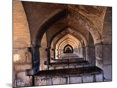 Khaju Bridge, Esfahan, Iran-John Borthwick-Mounted Photographic Print